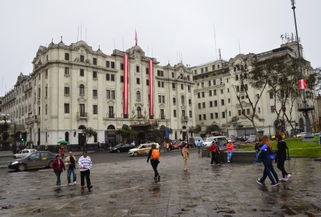Gran Hotel Bolívar at Plaza San Martín in Lima, Peru