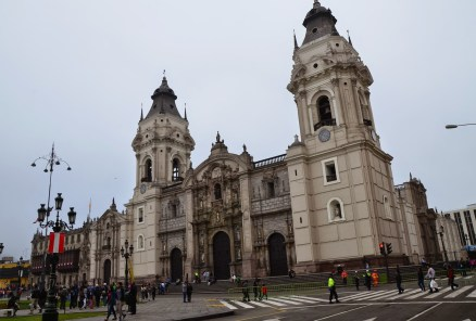 Catedral de Lima at Plaza Mayor in Lima, Peru