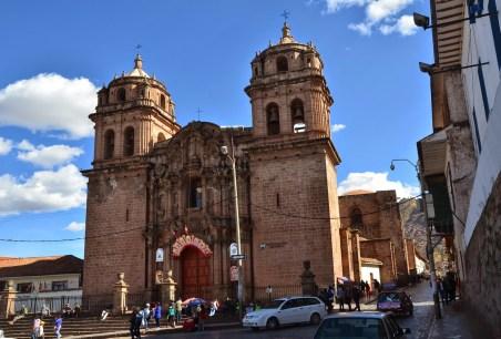 Iglesia de San Pedro in Cusco, Peru