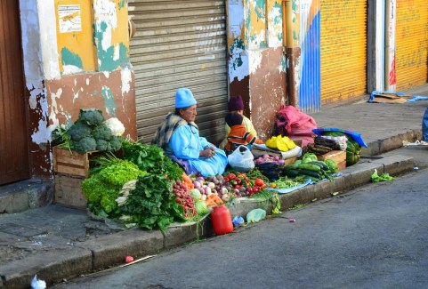 Mercado Rodríguez in La Paz, Bolivia