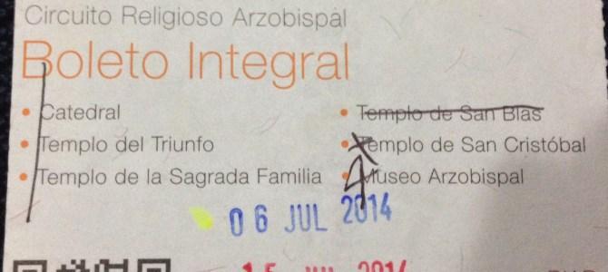 Cusco Tourist Tickets