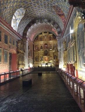 Iglesia de Santa Clara in La Candelaria, Bogotá, Colombia