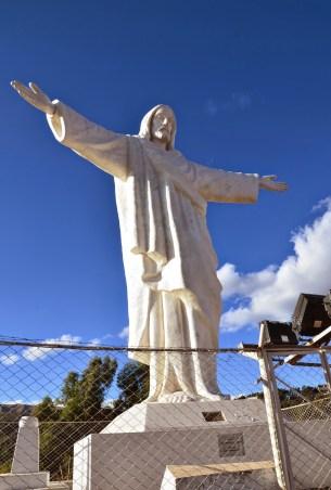Cristo Blanco in Cusco, Peru