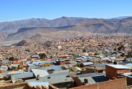 View of Potosí, Bolivia