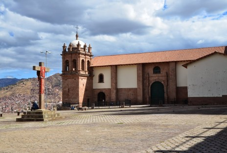 Iglesia de San Cristóbal in Cusco, Peru