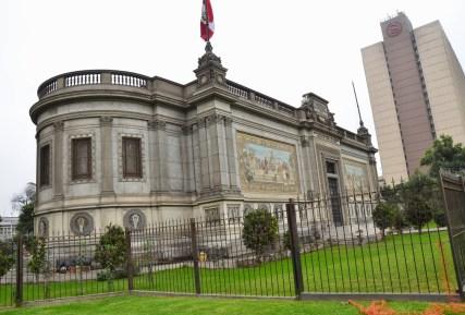 Museo de Arte Italiano at Paseo de los Héroes Navales in Lima, Peru