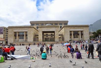Palacio de Justicia on Plaza de Bolívar, La Candelaria, Bogotá, Colombia