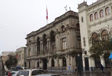 Club Nacional at Plaza San Martín in Lima, Peru