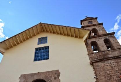 Iglesia de San Blas in San Blas, Cusco, Peru