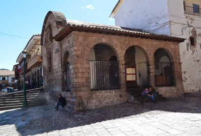 Capilla de Santísimo Sacramento on Plaza de Armas in Cusco, Peru