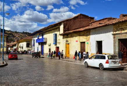 A street in Cusco, Peru