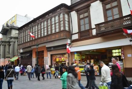 Casa de Aliaga in Lima, Peru