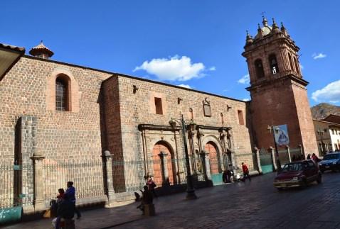 Iglesia de Santa Clara in Cusco, Peru