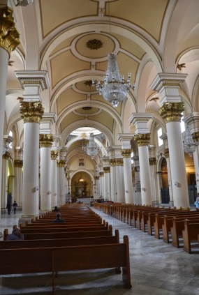 Catedral Primada on Plaza de Bolívar, La Candelaria, Bogotá, Colombia