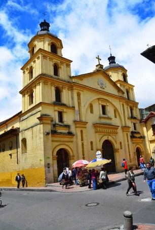 Nuestra Señora de la Candelaria in La Candelaria, Bogotá, Colombia