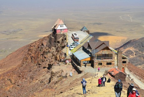 The ski lodge at Chacaltaya, Bolivia