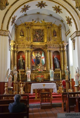 Iglesia de San Agustín in La Candelaria, Bogotá, Colombia
