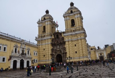 Convento de San Francisco in Lima, Peru