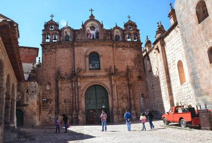 Templo de la Sagrada Familia on Plaza de Armas in Cusco, Peru