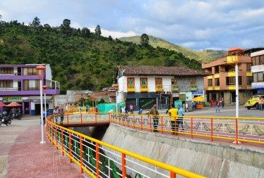 Canal in Mistrató, Risaralda, Colombia