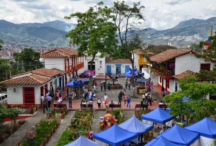 Pueblito Paisa in Medellín, Antioquia, Colombia