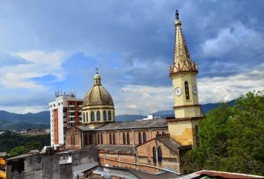 Iglesia El Claret in Pereira, Risaralda, Colombia
