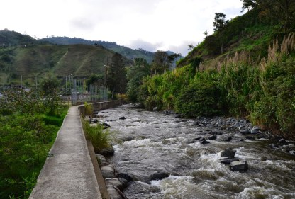 River in Mistrató, Risaralda, Colombia