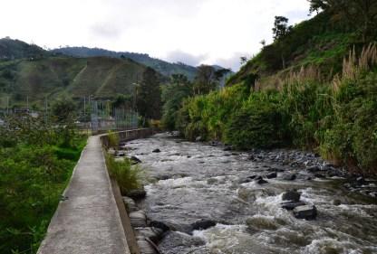 River in Mistrató, Risaralda, Colombia