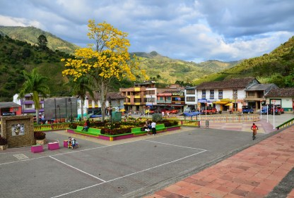 Plaza in Mistrató, Risaralda, Colombia