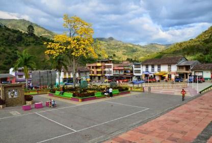 Plaza in Mistrató, Risaralda, Colombia
