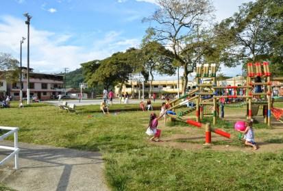Plazuela in Belén de Umbría, Risaralda, Colombia