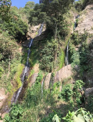 A waterfall near Guática, Risaralda, Colombia