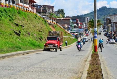 La Avenida in Anserma, Caldas, Colombia