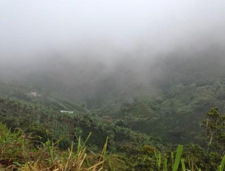 On the way to La Tribuna, Belén de Umbría, Risaralda, Colombia