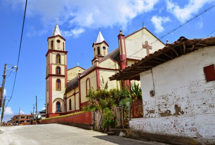 Church in San Clemente, Risaralda, Colombia