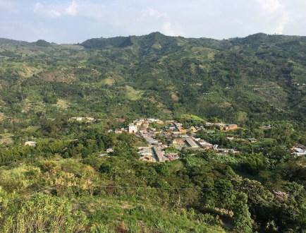 View of Santa Ana, Risaralda, Colombia