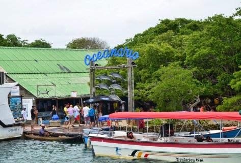 Oceanarium at Islas del Rosario, Colombia