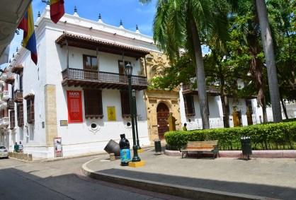 Palacio de la Inquisición (Museo Histórico de Cartagena) in El Centro, Cartagena, Bolívar, Colombia