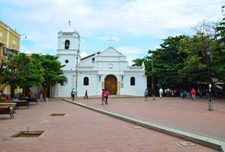 Iglesia de San Francisco in Santa Marta, Magdalena, Colombia