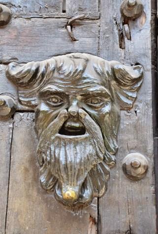 Door knocker in San Diego, Cartagena, Bolívar, Colombia