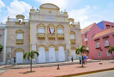 Teatro Heredia in San Diego, Cartagena, Bolívar, Colombia
