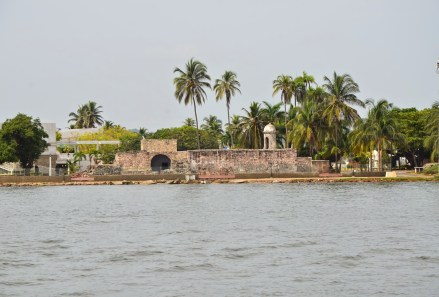 Castillo Grande de Santa Cruz in Cartagena, Colombia