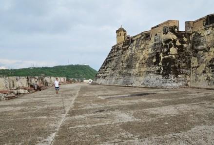 Castillo San Felipe de Barajas in Cartagena, Bolívar, Colombia