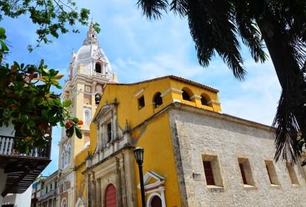 Catedral de Cartagena in El Centro, Cartagena, Bolívar, Colombia