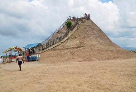 Volcán de Lodo El Totumo in Colombia