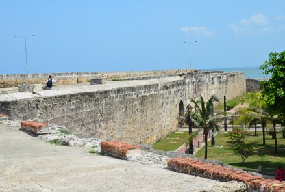 Las Murallas (City Walls) of Cartagena, Bolívar, Colombia