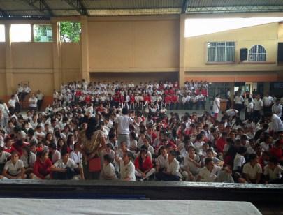 My first day of school at Nuestra Señora del Rosario in Belén de Umbría, Risaralda, Colombia