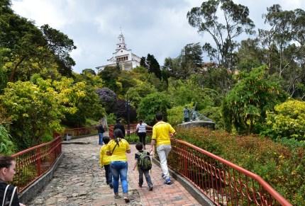 Via Crucis on Cerro de Monserrate in Bogotá, Colombia