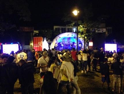 Fiesta in Marsella, Risaralda, Colombia