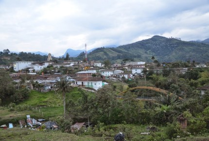 View of Salento, Quindío, Colombia